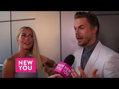 Julianne Hough and Derek Hough talk to New You about the new season of Dancing with the Stars