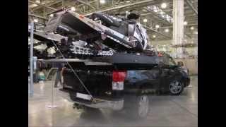 Алюминиевые платформы PRESTIGE DECK для перевозки снегоходов на пикапах
