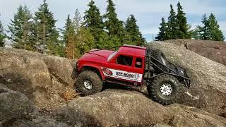New Crawler from Gmade Bom 2280kv Castle Ultimate Trail Truck.