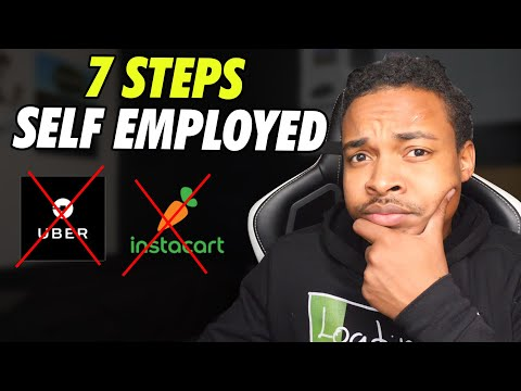 7 Steps To Becoming Self Employed