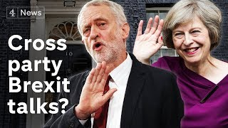 May holds cross-party Brexit talks - but Corbyn says no thumbnail
