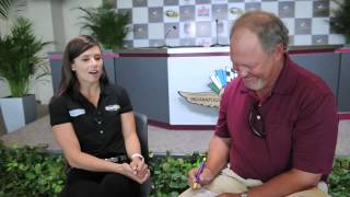 Bob Kravitz interviews NASCAR
