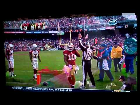 Celebrating 49ers touchdown with Kyle Williams!