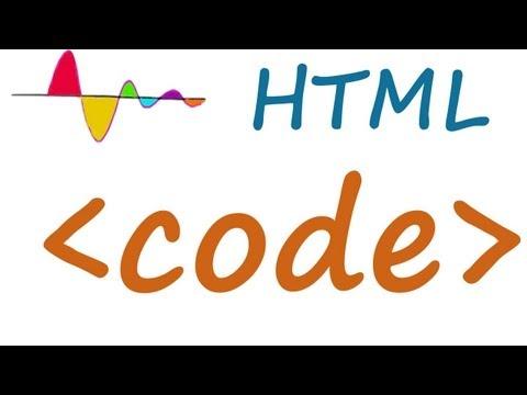 HTML Code Element