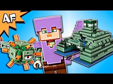 Lego Minecraft OCEAN MONUMENT 21136 Animation & Speed Build