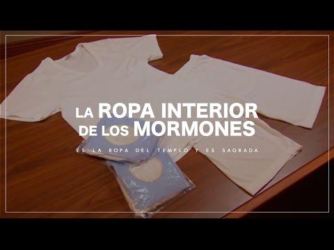 La Ropa interior que usan los mormones son los Garments del templo y son sagrados