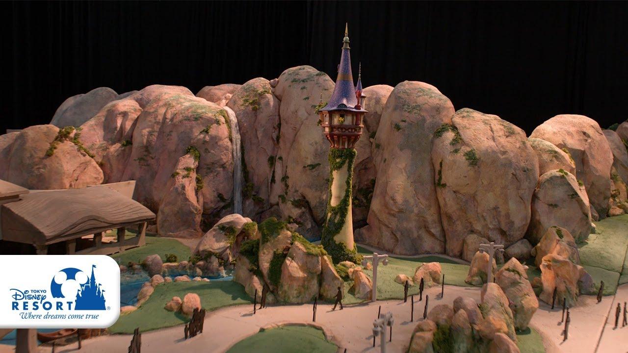 【公式】ファンタジースプリングス ディズニー映画『塔の上のラプンツェル』をテーマにしたエリアの模型動画公開! | 東京ディズニーシー/Tokyo DisneySea