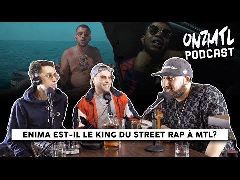 Youtube: Enima est-il le king du street rap à Montréal,«Expose» de KGoon || ONZMTL CONVO #1