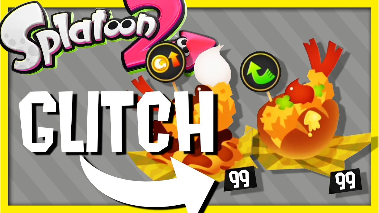 Version 20 Glitch Splatoon 2 Tickets Illimités