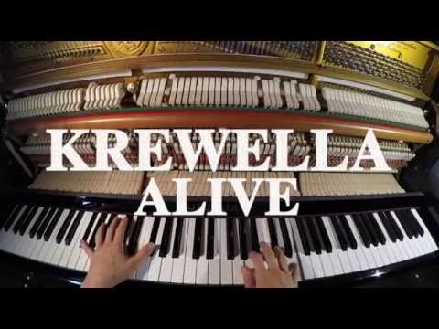 Krewella - Alive Piano Cover & Lyrics (by POVPiano)