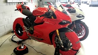 Silverstone track day on the 899 Panigale