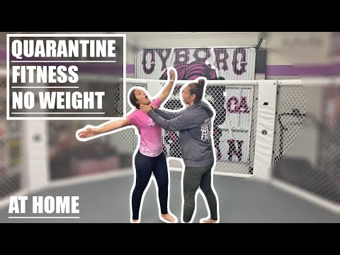 Live Stream: Cris Cyborg Quarantine Fitness At Home No Weights Workout Bellator UFC MMA Champion