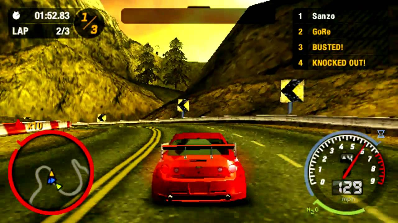 Need For Speed Most Wanted Psp Gameplay Youtube