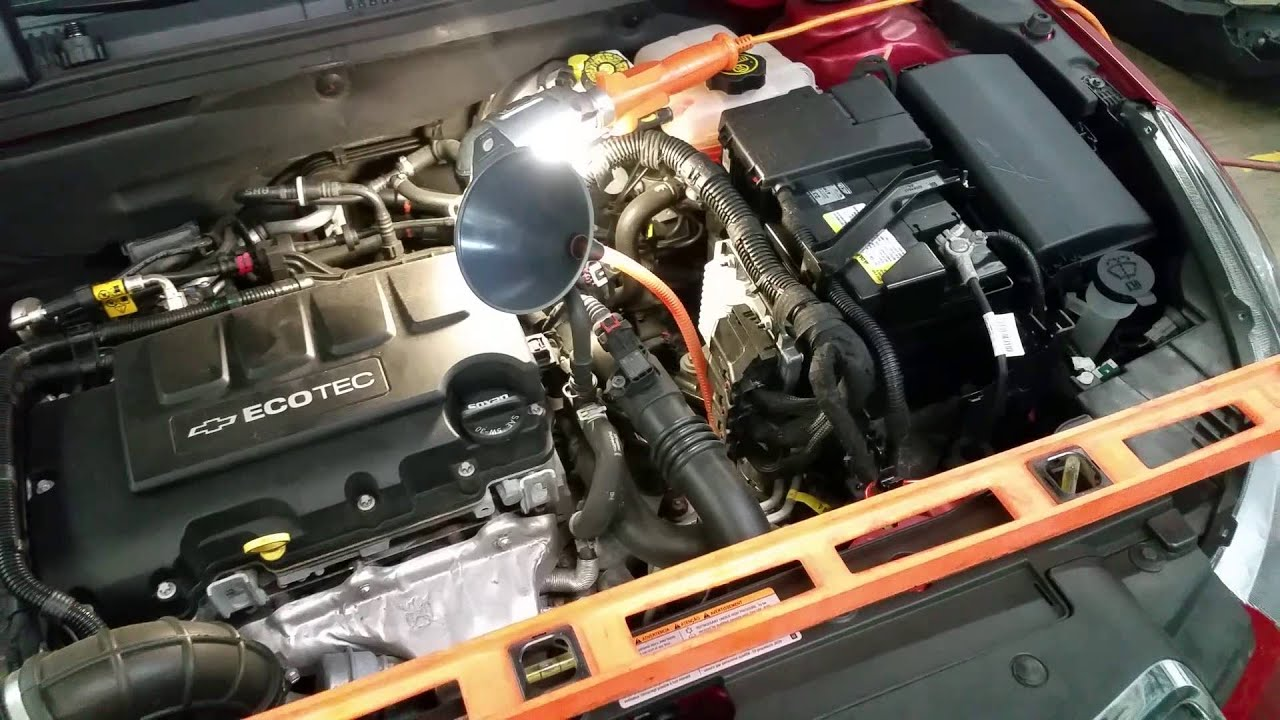 CHEVY CRUZE ATF TRANSMISSION FLUID LEVEL CHECK TOP OFF  YouTube