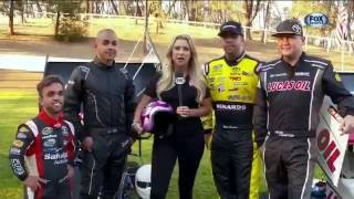 FOX SPORTS NASCAR and Several of NHRA's top stars hung out with Rico Abreu earlier this week