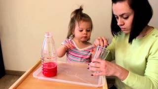 Делаем цветную пену! Вулкан из пены! Опыты в домашних условиях с детьми!