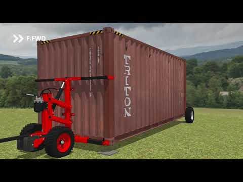 Shipping Container Wheels System™ / Kit Roues Container Maritime™
