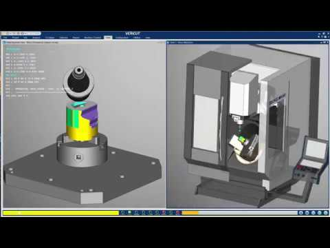 Siemens PLM NX to VERICUT Interface