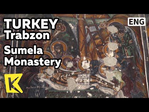 【K】Turkey Travel-Trabzon[터키 여행-트라브존]수멜라 수도원, 훼손된 성화/Sumela Monastery/Cliff/Frescos