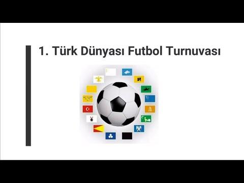 """""""1. Türk Dünyası Futbol Turnuvası"""" Ön Eleme Haftası"""