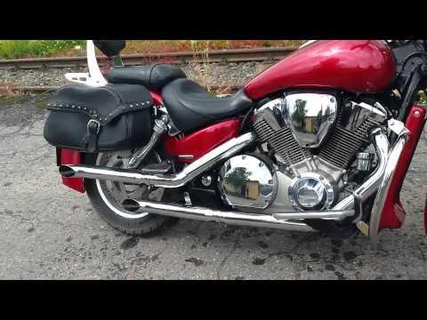 Honda Vtx 1800 custom exhaust