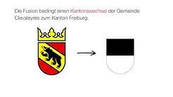 Konkordat über den Wechsel der Gemeinde Clavaleyres zum Kanton Freiburg