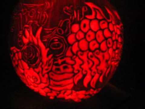 Cloud Serpent World Of Warcraft 2013 Pumpkin Carving Youtube