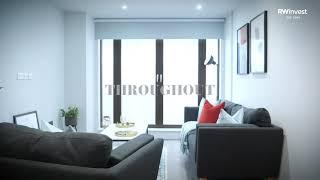 Parliament Square Liverpool - 1  Bedroom Apartment Showcase