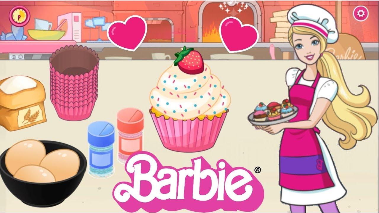 Juegos De Barbie Cocina Cupcakes Www Miifotos Com