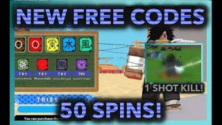 [056]UPDATE NEW FREE CODES! +50 FREE SPINS!|SASUKE RINNEGAN COMBO OP!!|ROBLOX Naruto RPG- Beyond |