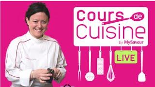 Cours de Cuisine en Live avec Hermance Carro - Avec les produits JARDIN BIO