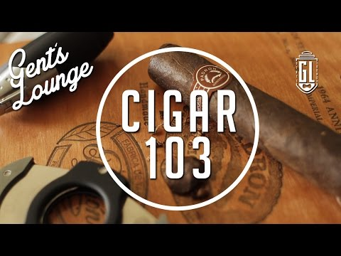 Cigar 103: How to Smoke a Cigar & Popular Cigar Drink Pairings || Gent's Lounge