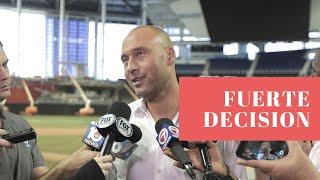 Derek Jeter explica por qué botó a alto empleado de Marlins