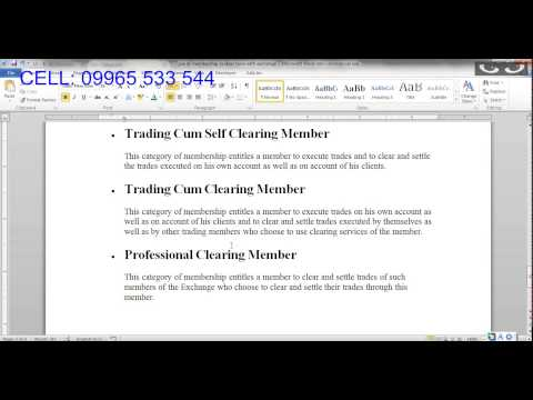 HOW TO CHOOSE A CORRECT STOCK BROKER? - PART   3