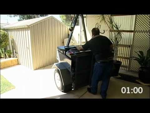 Centrefold Trailers - Easy Storage (Folding Trailer)