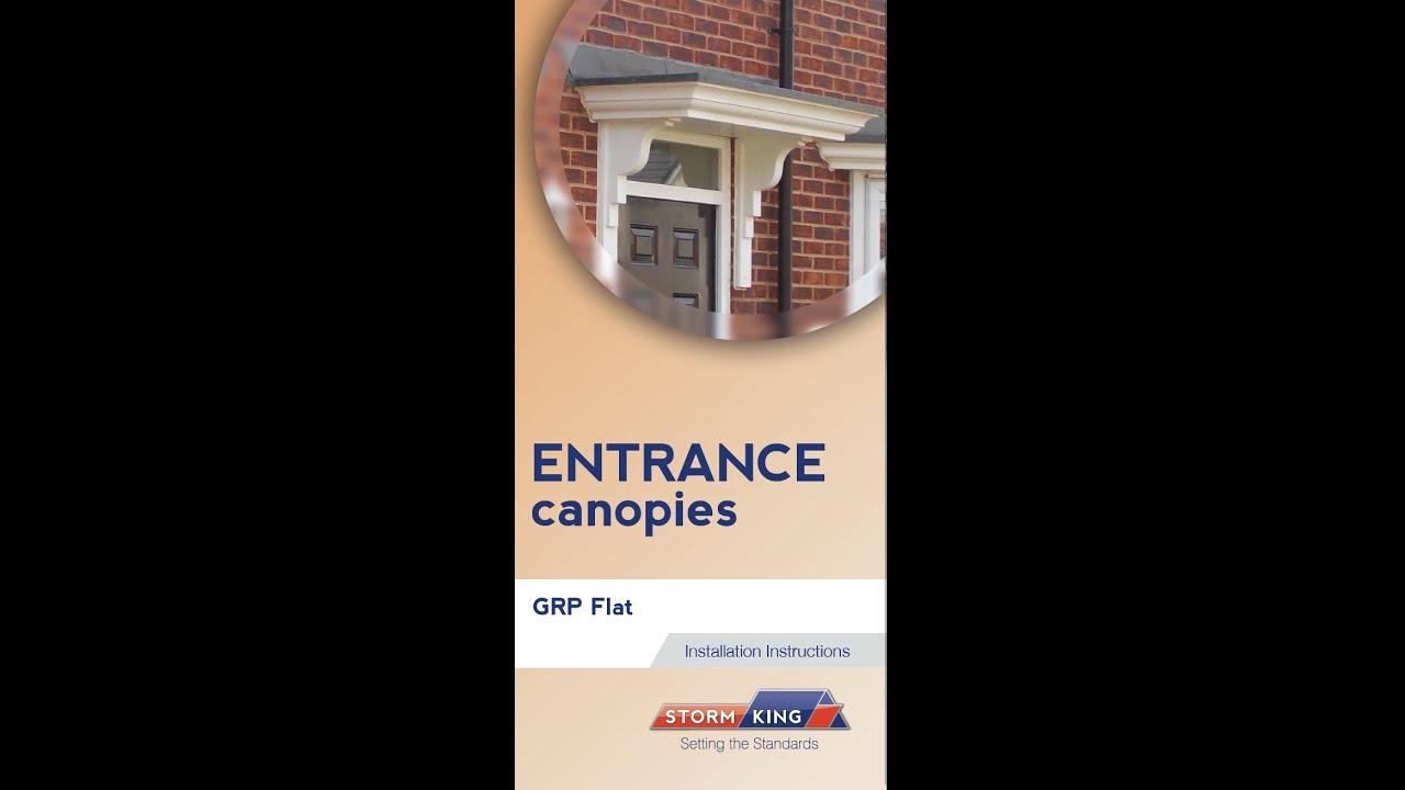 New Stormking Plastics Ltd Entrance Canopy - GRP Flat Fixing Video & New Stormking Plastics Ltd Entrance Canopy - GRP Flat Fixing Video ...