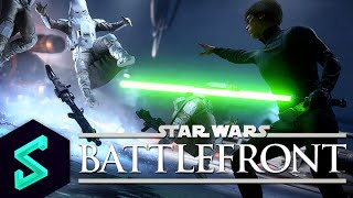 Squadron Plays: Star Wars Battlefront PC Beta Gameplay   Captain Shack   Multiplayer Gameplay