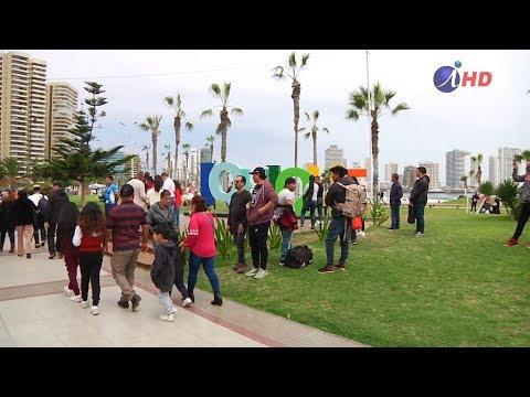 Turistas Nacionales Pasan El 18 En Iquique (2019.09.18) IquiqueTV