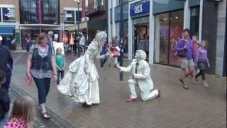 Living statues - Human statues in Assen