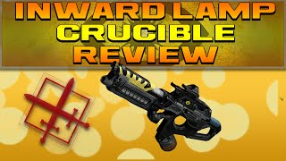 DESTINY - INWARD LAMP CRUCIBLE REVIEW (Trials of Osiris Scout Rifle Review)