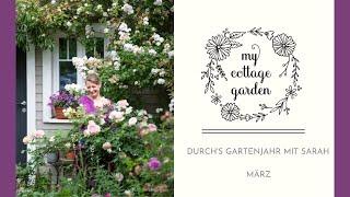 Der Garten im März - Zwischen Giersch, Wühlmäusen und Dahlien vorziehen