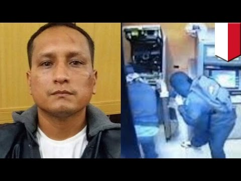Funny prison escape: ATM robber disappears from Bali courtroom through toilet window - TomoNews