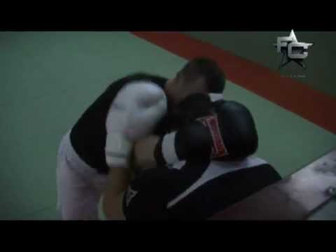 Cro Cop spars with Pat Barry before his fight with Ray Sefo