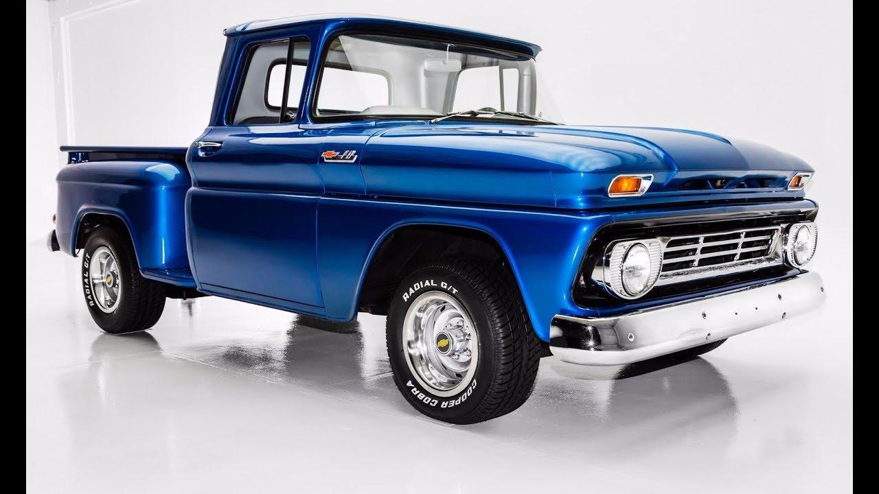 1962 Chevrolet Pickup C10 Stepside Short Box Youtube
