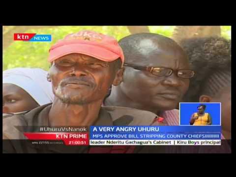 President Uhuru Kenyatta engages in verbal showdown with Turkana Governor Josephat Nanok