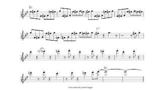 TRANSCRIPTION: TIGER RAG [Ken Peplowski on clarinet]