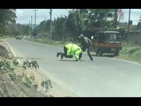 Kenya news today | Why I fought police officers: Nakuru tuk tuk operator speaks