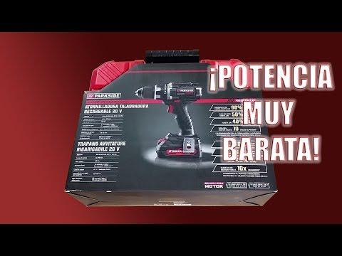 Unboxing Atornilladora Taladradora Performance PABSP 20 LI A1 de Parkside