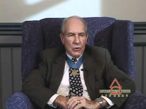 Hudner Korean War veteran Natick Veterans Oral History Project YouTube sharing