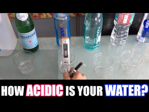 Acid Alkaline Water pH Test of 20 Popular Brands!